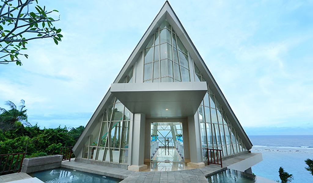 Samabe Pearl Bali chapel wedding