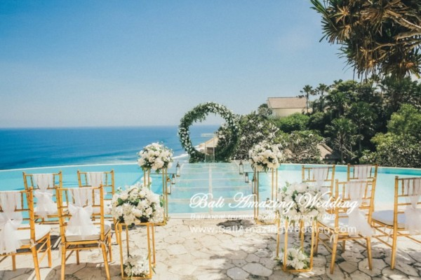 Paket Bali wedding on water
