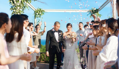 couple after wedding vow in Bali may 2019