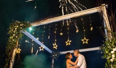 firework for bali wedding reception may 2019